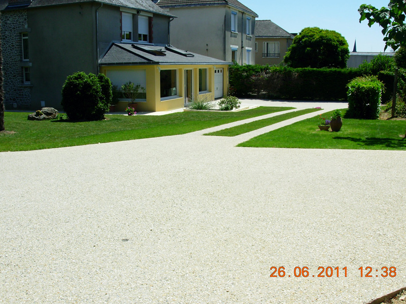 Terrasses murets all es ext rieures laval mayenne sarl trouillard ch - Refection terrasse beton ...